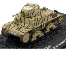 """M13/40 - италиански танк Fiat-Ansaldo 133Divisione Corazzata """"Littorio"""" El-Alamein (Egypt) - 1942"""