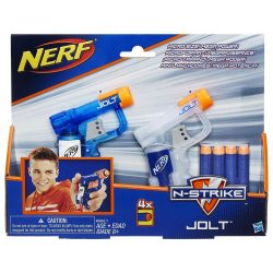 2 броя JOLT NERF пистолети с 4 стрели N-STRIKE ELITE B5817