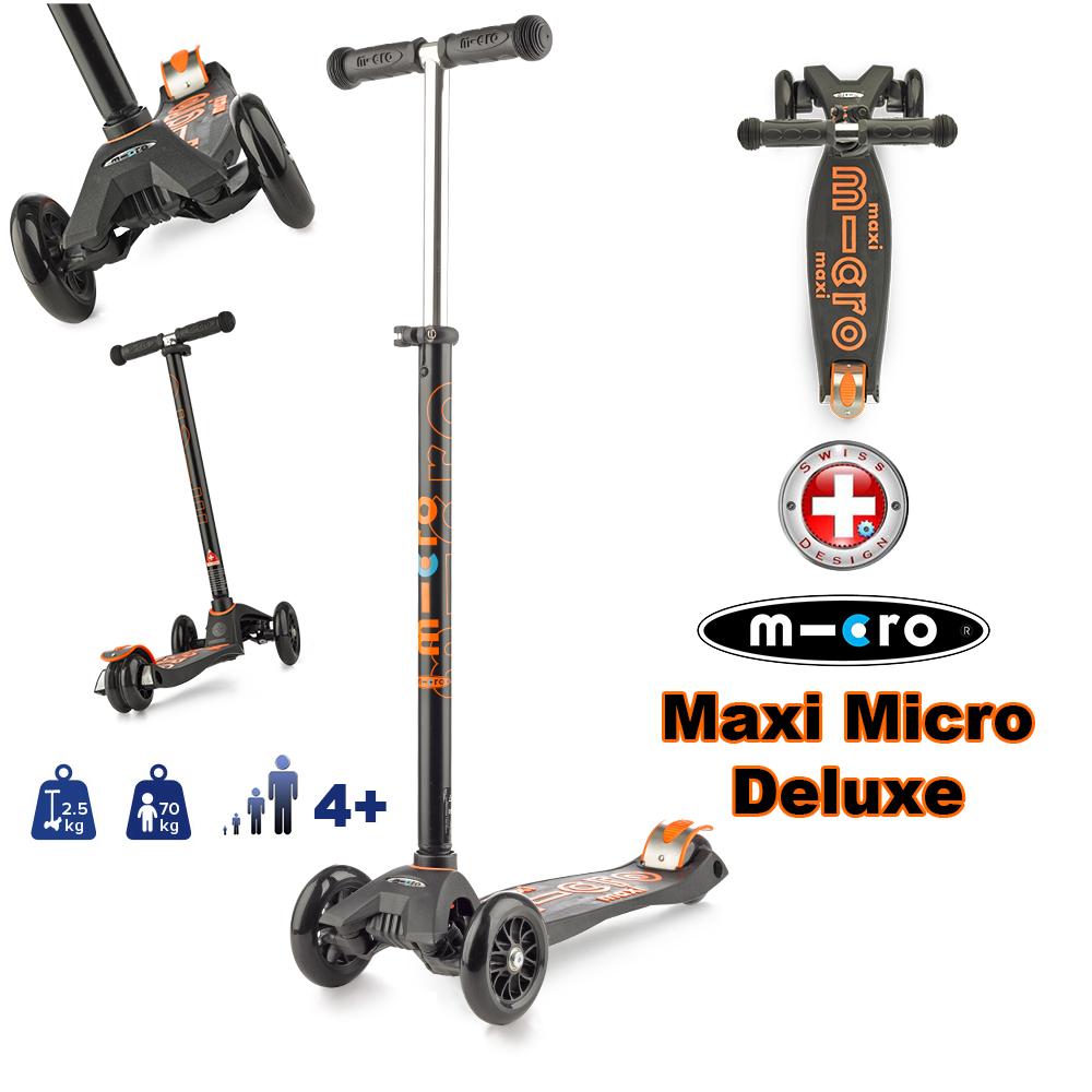 Maxi Micro Deluxe BLACK