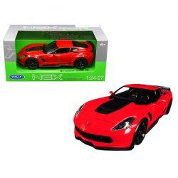 2017 Chevrolet Corvette Z06 червен 1:(24-27) Welly