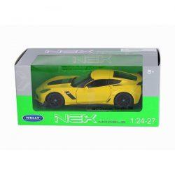 2017 Chevrolet Corvette Z06 жълт 1:(24-27) Welly