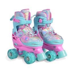 Roller skates Ariel - регулируеми ролкови кънки с LED светещи колела