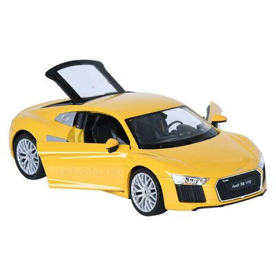Audi R8 V10 (2016) yellow 1:24 Welly