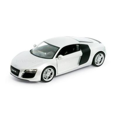 Audi R8 V10 бяло 1:24 Welly