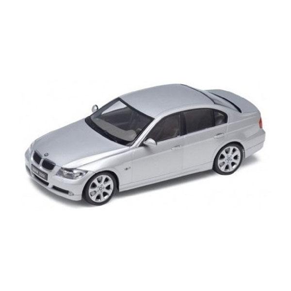 BMW 330i silver 1:24 Welly