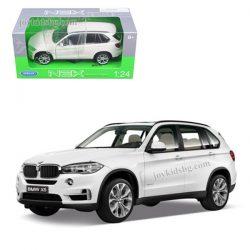 BMW X5 xDRIVE 5.0i white 1:24 Welly