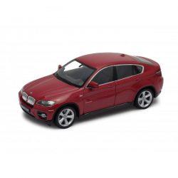 BMW X6 burgundy red (бордо) 1:24 Welly 24004W