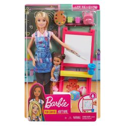 Barbie Art Teacher You Can Be GJM29