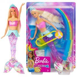 Бляскава русалка със светлини Sparkle Lights Mermaid Barbie Dreamtopia GFL82