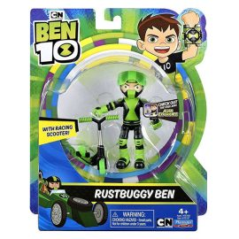 (BEN 10) Rustbuggy Ben with racing scooter (BEN 10) Rustbuggy Ben със състезателен скутер