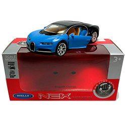 Bugatti Chiron син 1:34÷1:39 Welly
