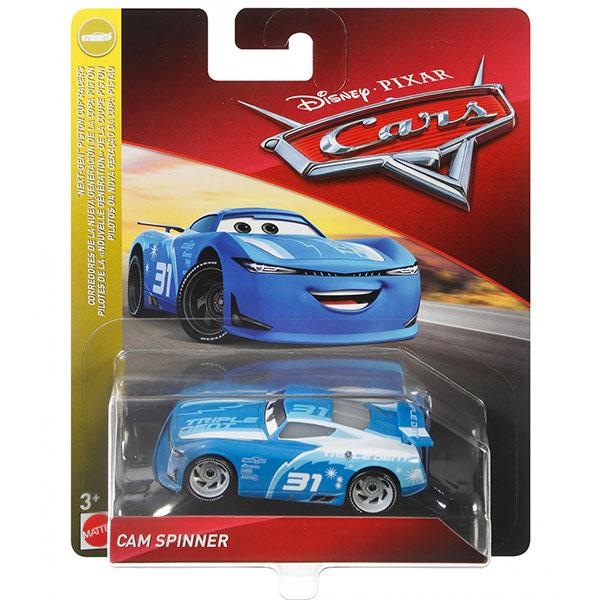 """Cam Spinner - Disney / Pixar Cars """"NEXT-GEN"""" PISTON CUP RACERS"""