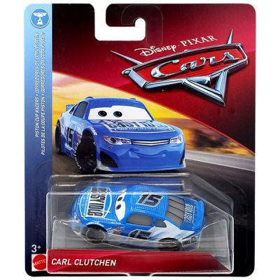 Carl Clutchen - Disney / Pixar PISTON CUP RACERS