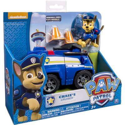 Чейс с автомобил за спешни случаи Paw Patrol Chase's Cruiser 6026050