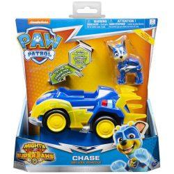 Спасителна машина на Чейс със звук и светлини Paw Patrol Chase Deluxe Vehicle 6053026