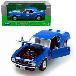 Chevrolet Camaro Z28 (1968) син Welly 1:24
