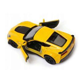 Chevrolet Corvette Z06 (2017) жълт 1:34÷1:39 Welly