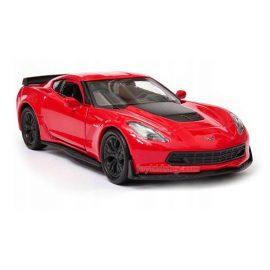 Chevrolet Corvette Z06 (2017) червен 1:34÷1:39 Welly
