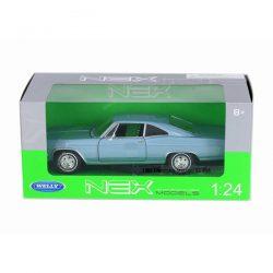 Chevrolet Impala SS 396 (1965) light blue 1:24 Welly