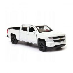 Chevrolet Silverado (2017) бял 1:34÷1:39 Welly