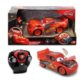 Катастрофираща кола МакКуин Светкавицата Crash Car Lightning McQueen R/C DICKIE 203084018