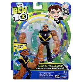 (Ben 10) Omni-Glitch Heroes Diamnondhead-Humungousaur 76143
