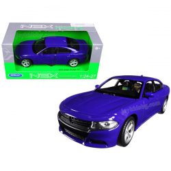 Dodge Charger R/T (2016) blue 1:24 Welly