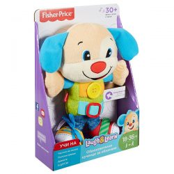 FISHER PRICE Образователно кученце за обличане LAUGH&LEARN FBT00