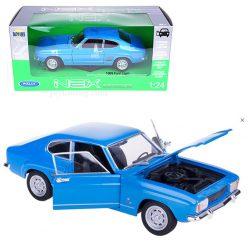 Ford Capri 1969 син 1:24 Welly