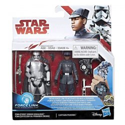 Fin (First Order Disguise) and Captain Phasma Star Wars Force Link