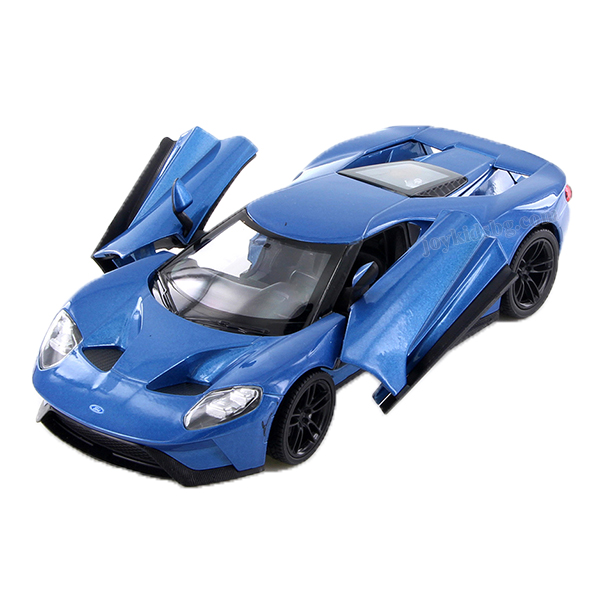 Ford GT (2017) син 1:24 Welly