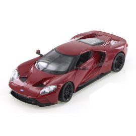 Ford GT (2017) бордо 1:24 Welly