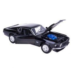 Ford Mustang Boss 429 черен 1969 Welly 1:24