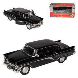 Чайка ГАЗ 13 черна. Мащабен модел 1:34÷1:39 Welly