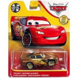 Golden Lightning McQueen - Disney / Pixar Cars