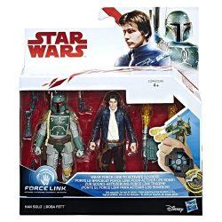 Han Solo и Boba Fett двойка фигури Star Wars Force Link C1244/C1242