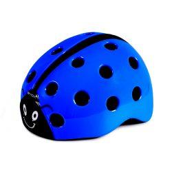 Каска Калинка синя (50-56 см) регулируема Helmet Ladybug blue