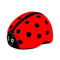 Каска Калинка червена (50-56 см) регулируема Helmet Ladybug red