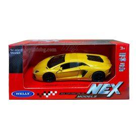 Lamborghini Aventador Coupe yellow 1:(34-39) Welly