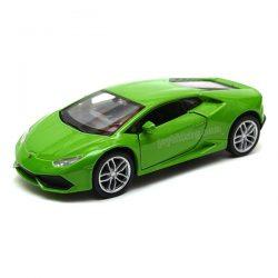 Lamborghini Huracan coupe зелено Welly 1:(34-39)