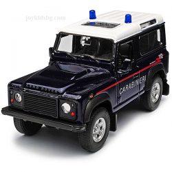 Land Rover Defender carabinieri Welly 1:(34-39)
