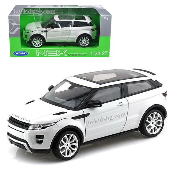 Land Rover Range Rover Evoque White 1/24 box