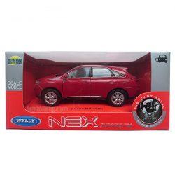 Lexus RX 450h червен Welly 1:34÷1:39