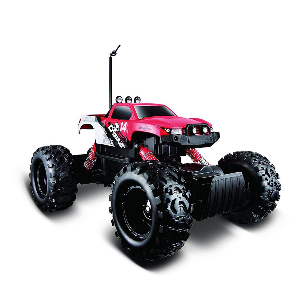 4x4 радио управляем Скален Катераччервен Maisto TechR/C Rock Crawler 81152 red