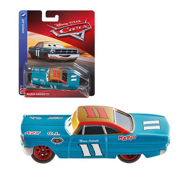 Mario Andretti Cars Dinoco 400