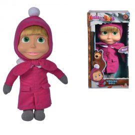 Пееща куклаМаша - Masha Singing Doll, 30cm - Masha and the Bear Simba 109301035