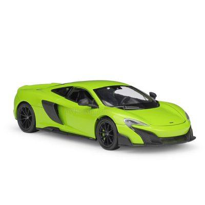 McLaren 675LT green 1:24 Welly