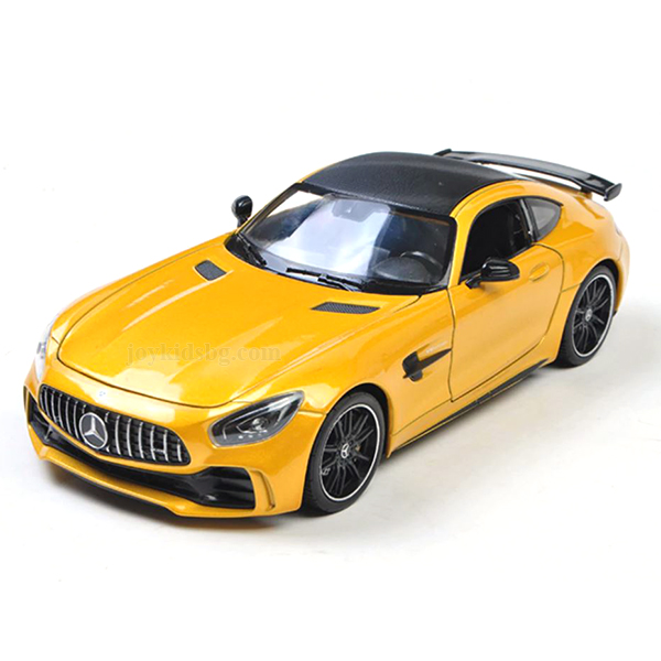 Mercedes AMG GT R (Yellow) Welly 1:24