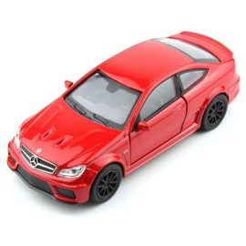 Mercedes-Benz C 63 AMG Coupe red 1:(34-39) Welly