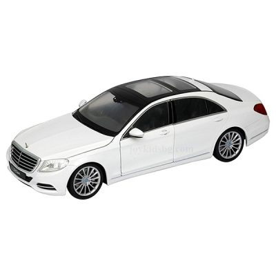 Mercedes-Benz S-Class white 1:24 Welly